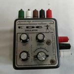 Unknown/Unbranded ECG Simulator – For parts or not working