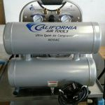 CAT- 4610AC Ultra Quiet , Oil-Free, Lightweight Air Compressor – For parts or not working