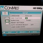 Conmed Linvatec VP4726 HD LCD MONITOR HD1080P 26″ with Power Supply – Used