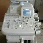GE Logiq 5 Expert Ultrasound System with 739L Probe – For parts or not working