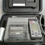 Pacesetter 3250 Portable Thermal APSu Printer with Programmer and Case – Used