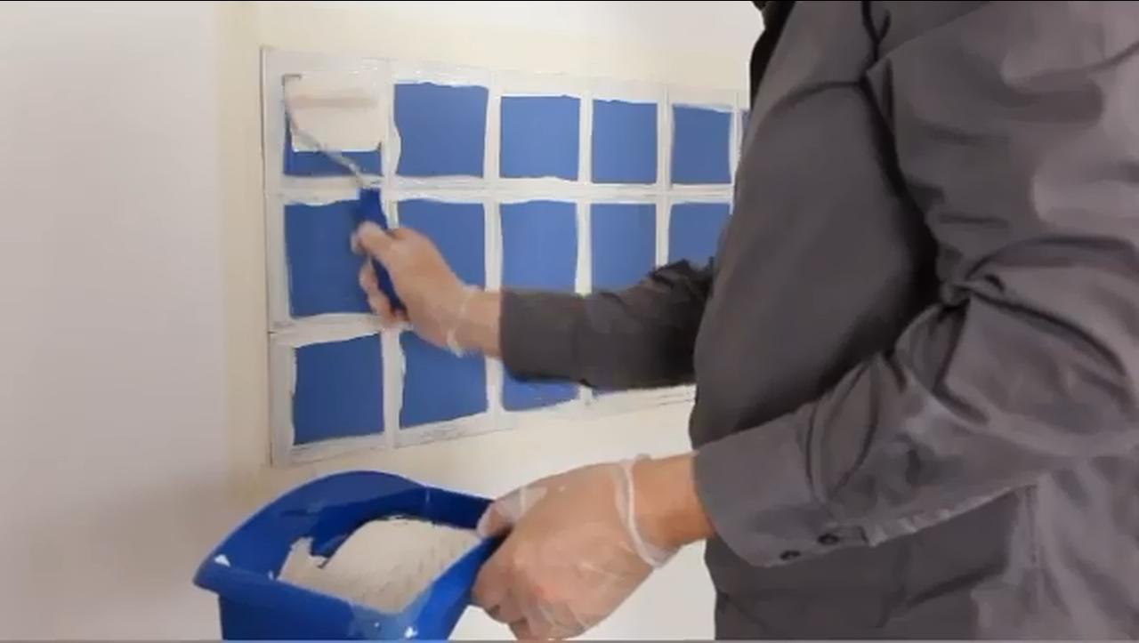 peindre le carrelage d une salle