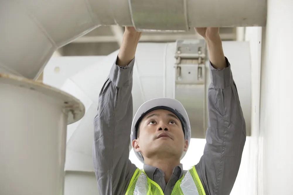 ガス工事中に点検を行うガス主任技術者
