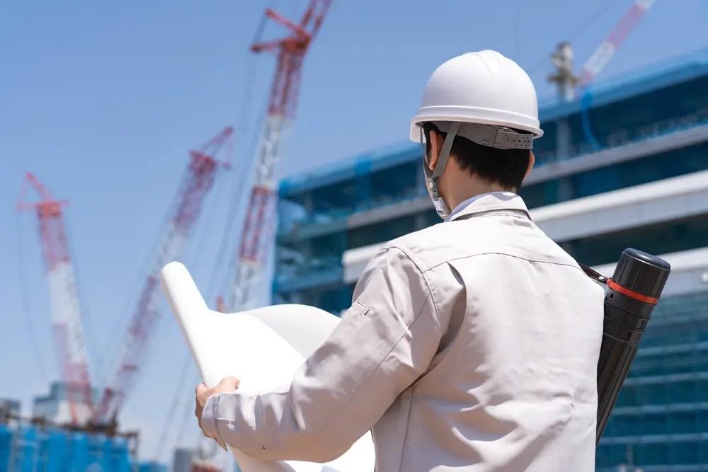 施工図を作成する建築施工管理技士