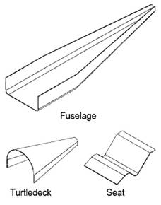 Aircraft Fuselage Panel, Aircraft, Free Engine Image For