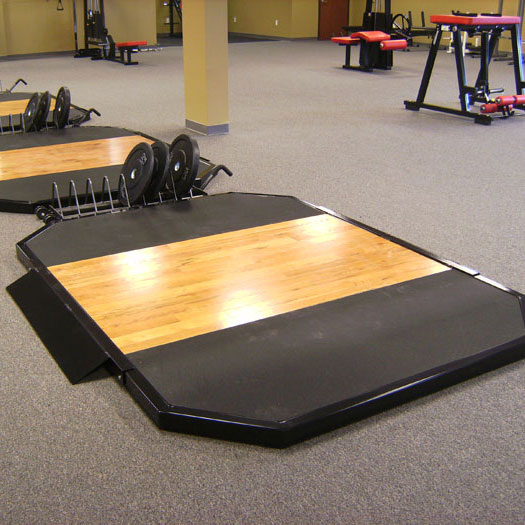 hardwood lifting platform 6
