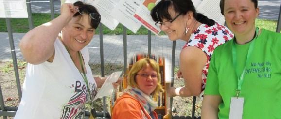 Regina Steinert, Katja Porschel, Elvira Ullmann und Sandra Butte (v. l.)