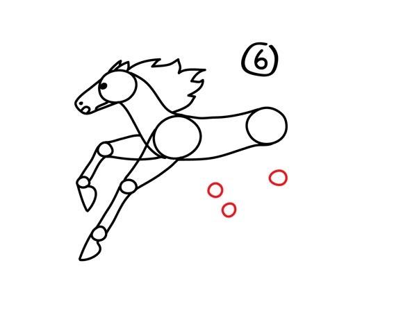 07. Как нарисовать лошадь