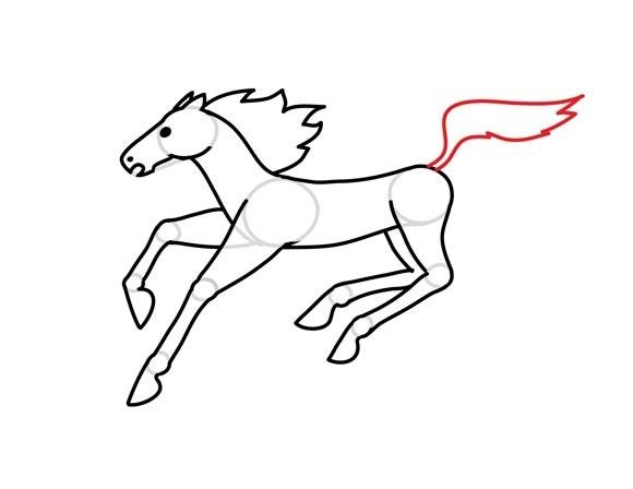 01. Как нарисовать лошадь