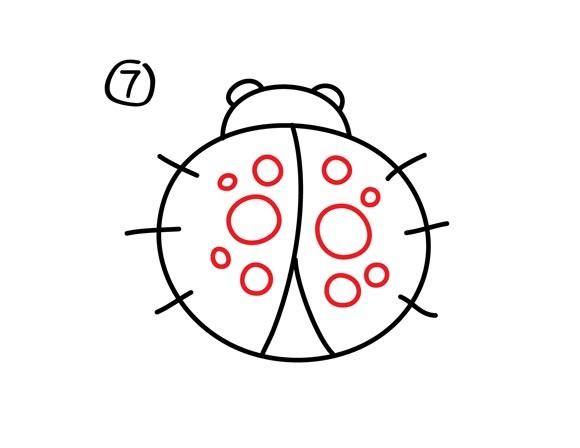 08. Как нарисовать божью коровку?