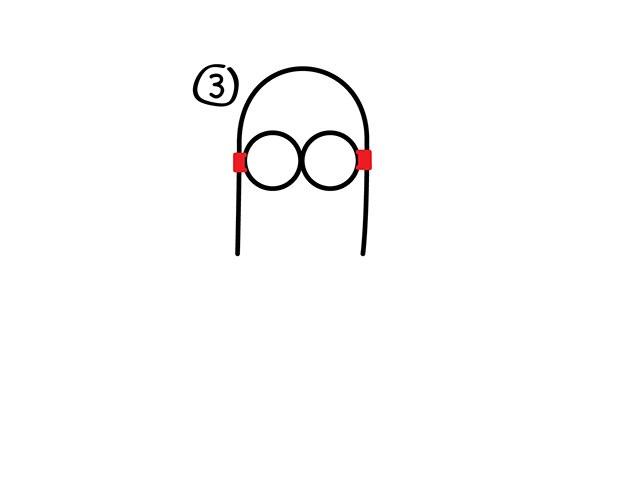 08. Как нарисовать миньона быстро и легко!