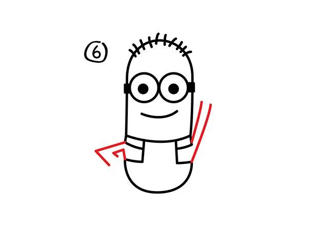 05. Как нарисовать миньона быстро и легко!