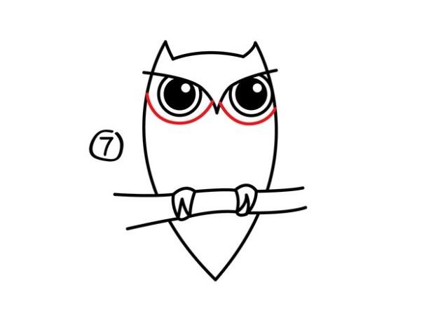 08. Как нарисовать сову – быстро и просто!