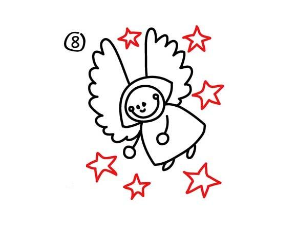 02. Как нарисовать ангела вместе с детьми