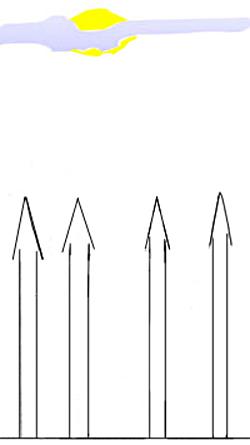 Начнем с рисования четырех основных башен