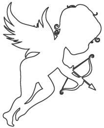 Раскрасски для детей - ангелочки и ангелв распечатать в хорошем качестве6