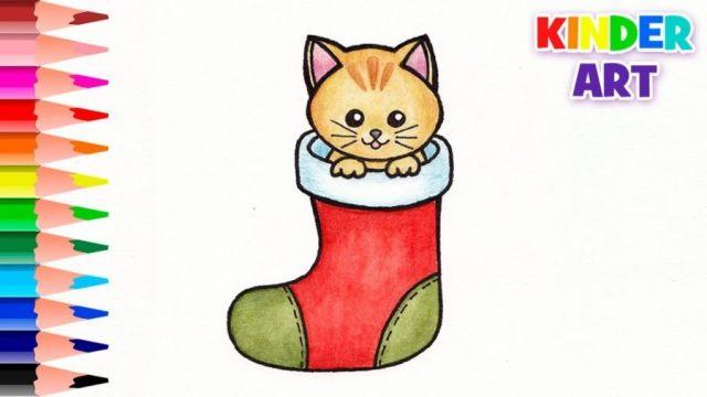 Сквиши котенок