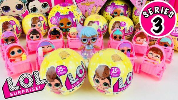 Куклы ЛОЛ-Третья Серия