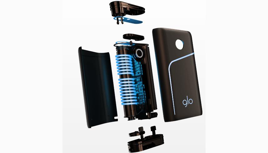 GLO Pro: обзор на систему нагревания табака от компании BAT устройство изнутри