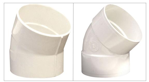 Solvent Weld Sanitary Tees