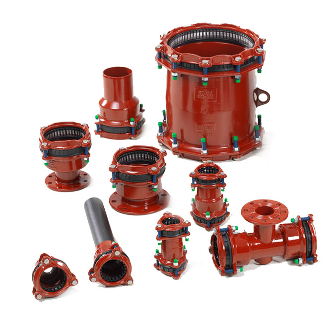 Multi/Joint 3000 Plus Couplings & Flange Adapters