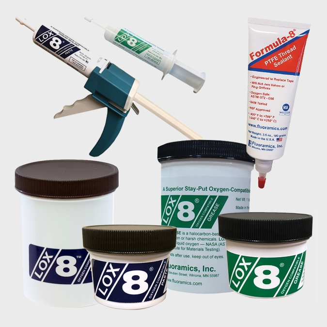 Lox-8 & Formula-8 Hypo Paste, Grease & Tape