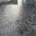 pavaje beton amprentat