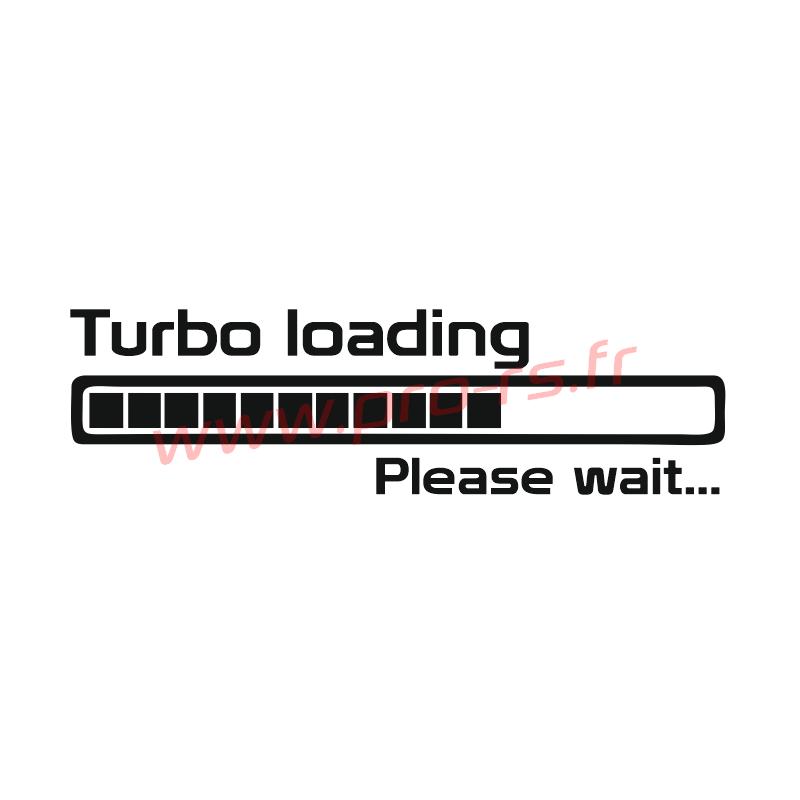 Sticker Turbo Loading