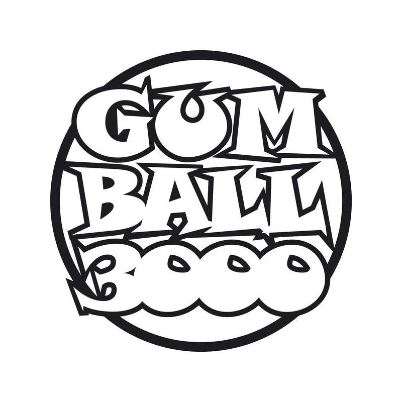 Sticker Gumball 3000