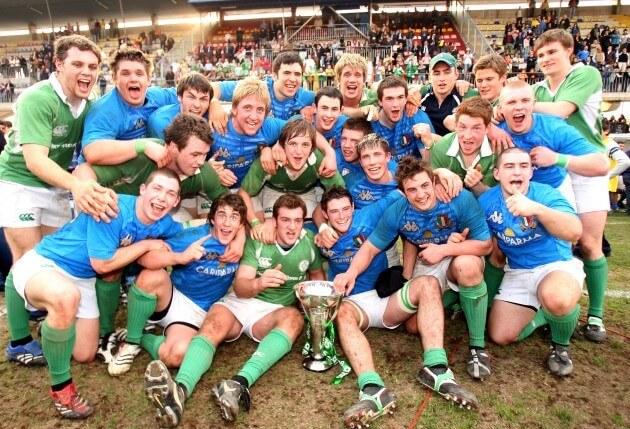 Eoghan Grace Ireland Grand Slam