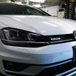 VW・Golf Alltrack(ピュアホワイト (0Q)) 新車ミガキLEVEL1+PCX-V110コーティング 札幌「お車のガラスコーティング」