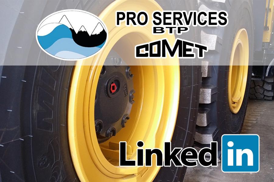 Pro Services BTP sur le réseau professionnel LinkedIn !