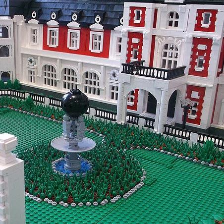 Выставка Лего Лондонские многоквартирные дома