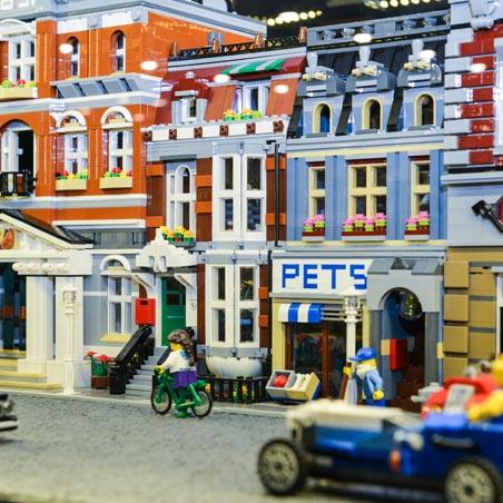 Выставка Лего Макеты военного положения