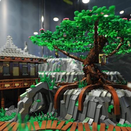 Выставка Лего Средневековье