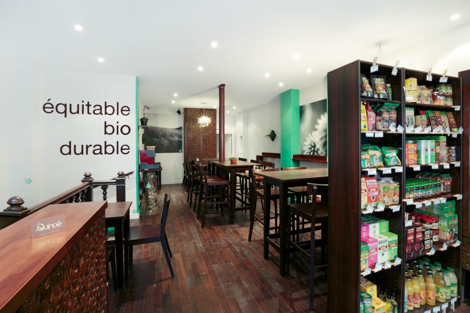 Restaurant Le Quinoe? - Agence Effervescent