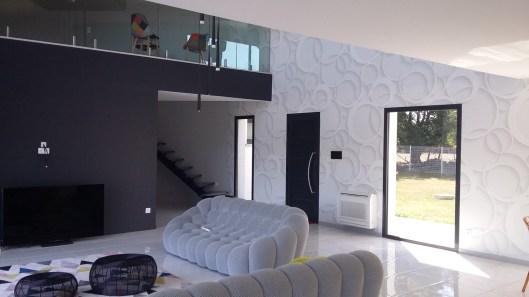 Papiers peints 3D Cercles