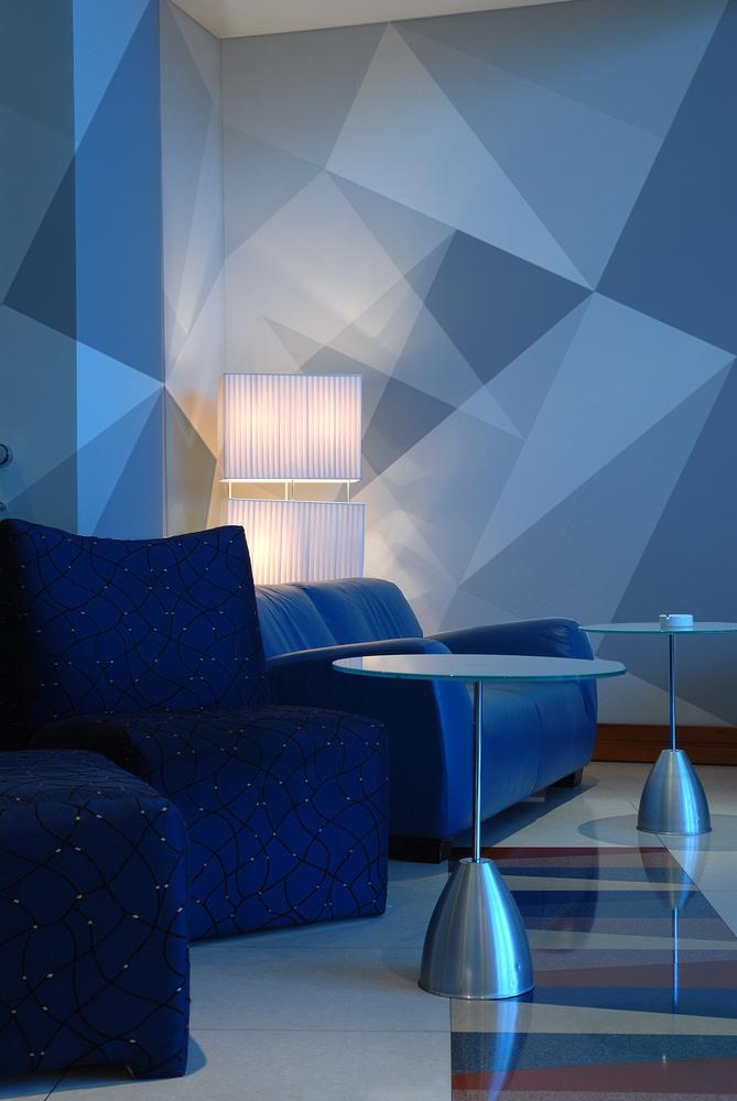 Papiers peints Abstract blue