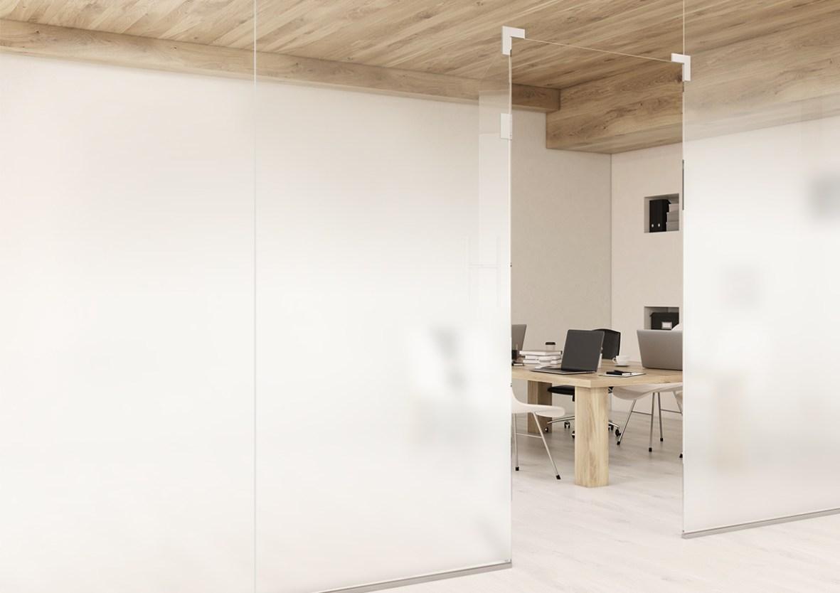 Films pour vitres Dégradé blanc