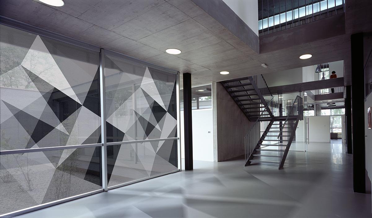 Films pour vitres Abstract black 02