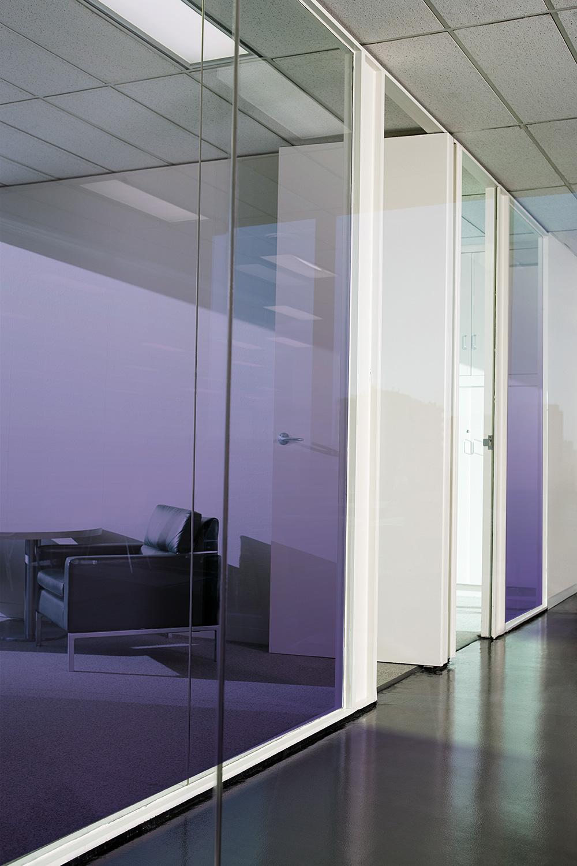 Films pour vitres Dégradé couleur personnalisé
