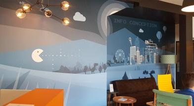 Fresque murale Info Conception - Nantes / Haute Goulaine