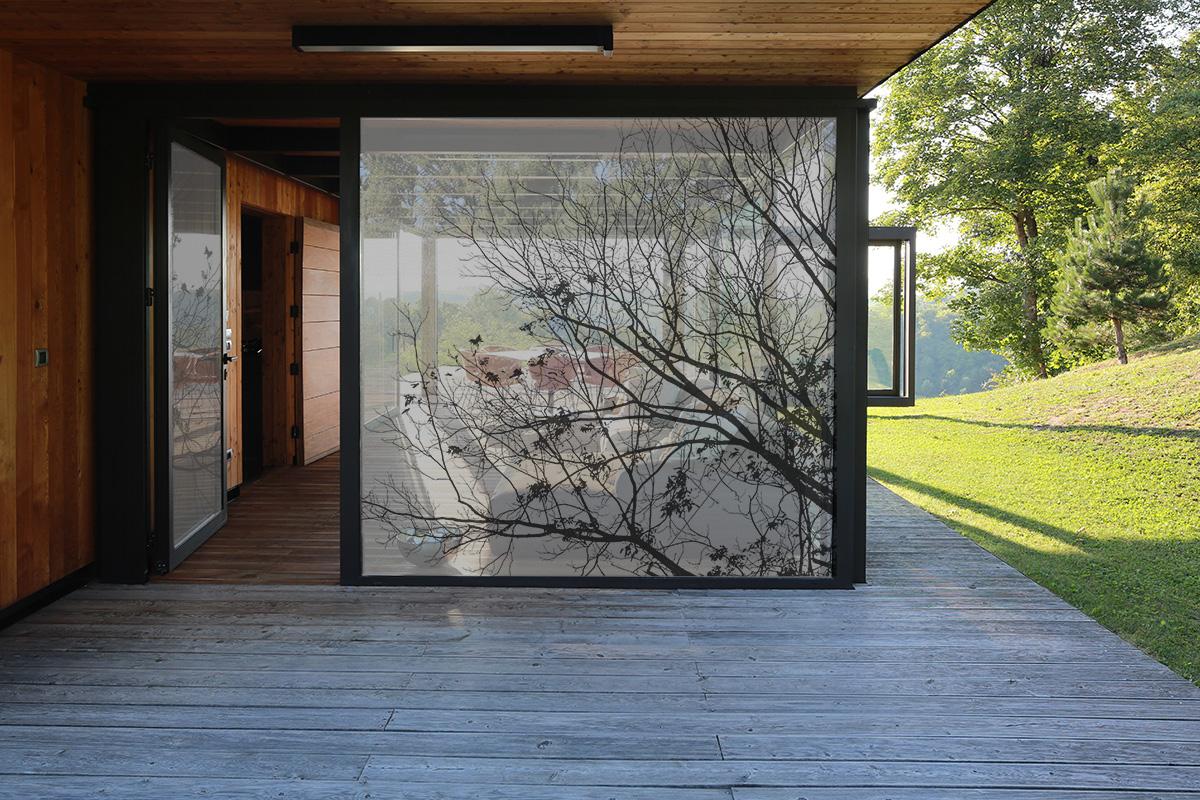 Tissus pour vitres SQUID BRANCH