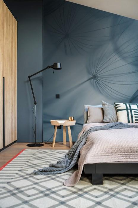 Papier peint panoramique Dandelion blue