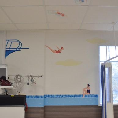 Décoration murale Fondation Rotschild - Paris
