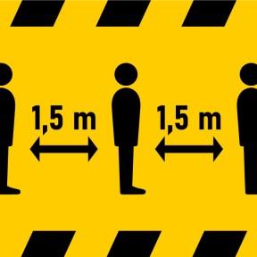 Signalétique de sécurité - Gestes barrière