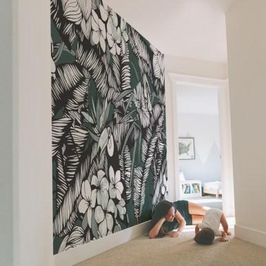 Papier peint panoramique Toucan- Silowane