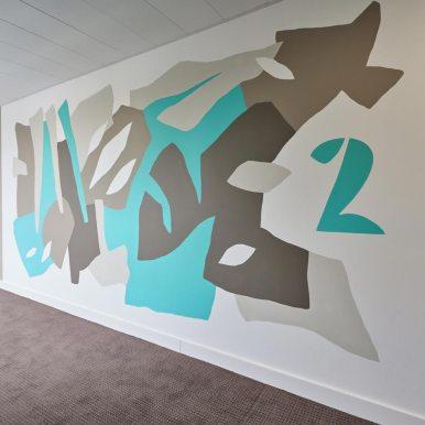 Décoration et signalétique / BOUYGUES Immobilier / Design MJ studio