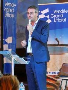 Maxence de Rugy Président de la communauté de communes vendée grand littoral