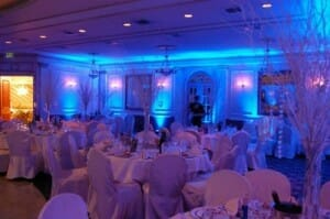 Minnesota Wedding Uplighting by Pro Sound & Light Show DJs